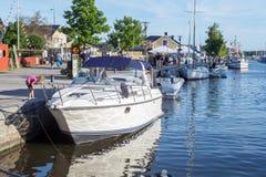Summer in Trosa, Sweden Stock Images