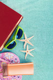 Summer turquoise Stock Photography