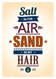 Summer typography Stock Photography