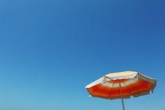Summer umbrella royalty free stock photography