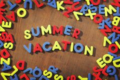 Summer Vacation Royalty Free Stock Photo