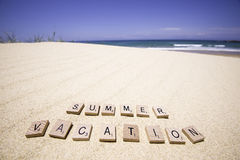 Summer vacation Royalty Free Stock Photos