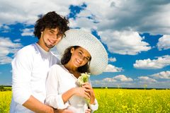 During summer vacation Royalty Free Stock Images