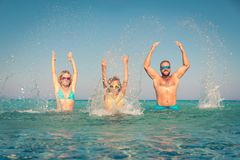 Summer vacation and active lifestyle concept royalty free stock photos