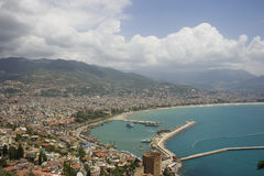 Summer vacation in Alanya Stock Images