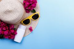 Summer, vacation background Stock Photos