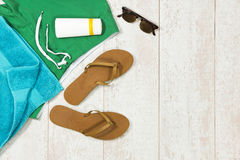 Summer vacation background Stock Image