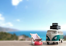 Summer vacation background with space Stock Photography