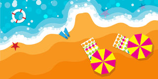 Summer vacation background. Welcome to paradise Royalty Free Stock Images