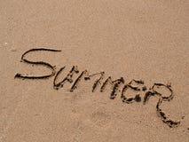 Summer vacation beach Royalty Free Stock Photo