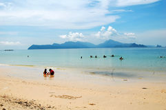 Summer Vacation Beach- Andaman  Royalty Free Stock Photography