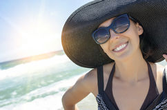 Summer vacation on the beach. Royalty Free Stock Photos
