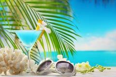 Summer vacation on beach stock image