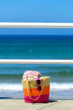 Summer vacation on beach concept Stock Images