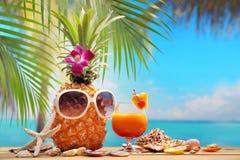 Summer vacation on beach Royalty Free Stock Photos