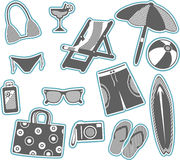 Summer Vacation Collection Stock Photos