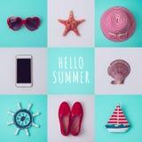 Summer vacation concept Stock Photos