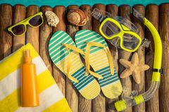 Summer vacation concept Royalty Free Stock Photos