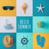 Summer vacation concept Royalty Free Stock Photo