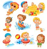 Summer vacation Royalty Free Stock Photography