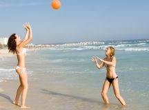 Summer vacation fun Royalty Free Stock Photo