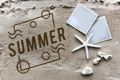 Summer Vacation Fun Enjoyment Concept Royalty Free Stock Images