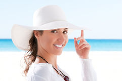 Summer vacation girl Royalty Free Stock Image