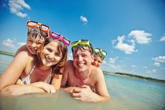 Summer vacation Stock Image