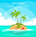 Summer Vacation Holiday Tropical Ocean Island With Royalty Free Stock Photo