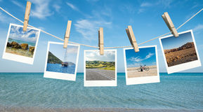 Summer vacation ideas Royalty Free Stock Photo