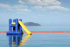 Summer vacation scene with Royalty Free Stock Photo