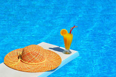 Summer vacation scene Royalty Free Stock Images