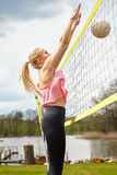 Summer vacation, sport and people concept Stock Image