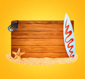 Summer vacation theme Royalty Free Stock Photo