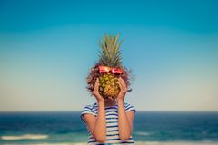 Summer Vacation Travel Adventure Concept royalty free stock photo