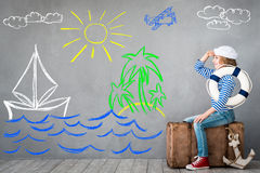 Summer vacation and travel concept Stock Photo