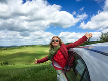 Summer vacation and travel concept Stock Photography