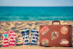 Summer Vacation Travel Sea Beach royalty free stock images