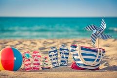 Summer Vacation Travel Sea Beach stock image