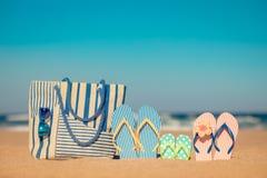 Summer Vacation Travel Sea Beach stock photo