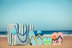 Summer Vacation Travel Sea Beach royalty free stock photography