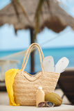 Summer vacation on a tropical island Royalty Free Stock Photography