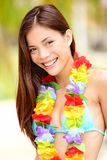 Summer Vacation woman happy Royalty Free Stock Photo