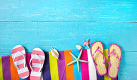 Summer vacations background Royalty Free Stock Photos