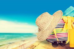 Summer Vacations Royalty Free Stock Images