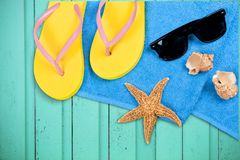 Summer Vacations Stock Photography