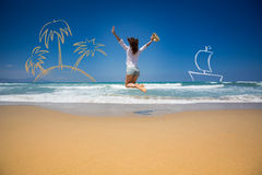 Summer vacations concept Stock Photography