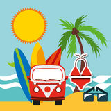 Summer vacations Royalty Free Stock Photo