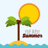 Summer vacations Stock Images