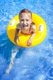 Summer Vacations Girl Stock Photo